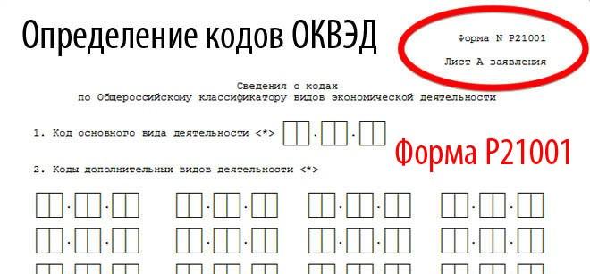 как открыть ип - определяем коды ОКВЭД