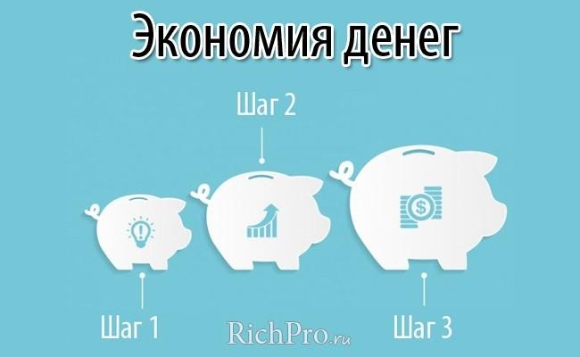 как научиться копить и экономить деньги
