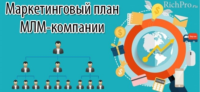маркетинг план сетевых млм компаний