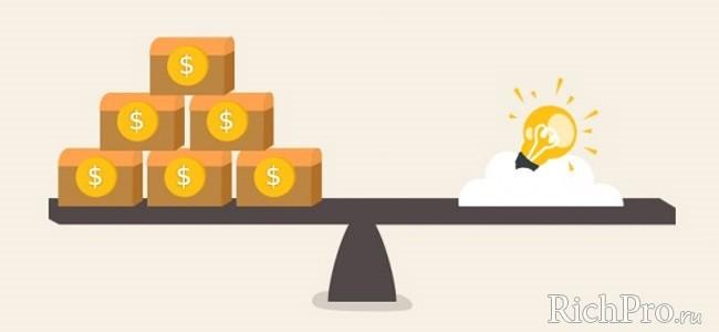 поиск инвестора для стартапа - инвестиции в стартапы