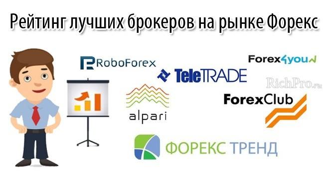 Рейтинг Форекс брокеров в России по надежности - ТОП-10 лучших