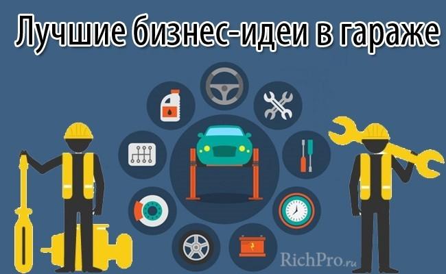 бизнес идеи в гараже идеи для гаража гаражный бизнес