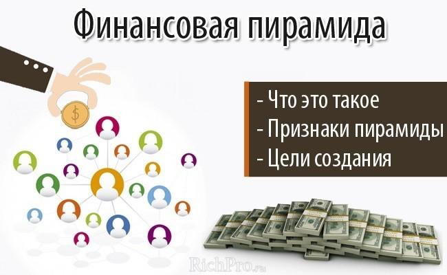 финансовая пирамида - что это такое