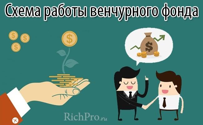 Венчурный фонд - что это такое: определение и схема работы