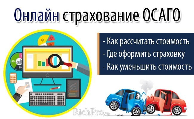Что такое страховка ОСАГО онлайн - страхование автомобиля по ОСАГО