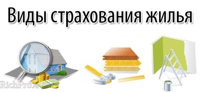 Основные объекты страхования при страховании квартиры или дома