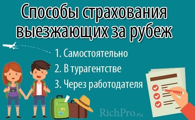 Как купить туристическую страховку - 3 способа