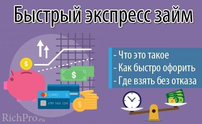 быстрый кредит на карту онлайн
