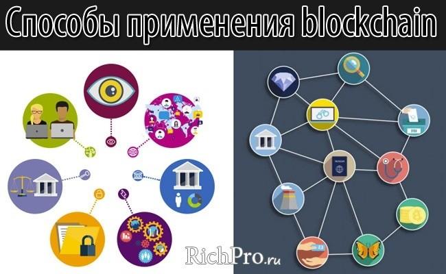 Способы применения блокчейн-технологий - 9 вариантов