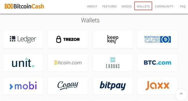 Bitcoin cash кошелёк - регистрация и вход