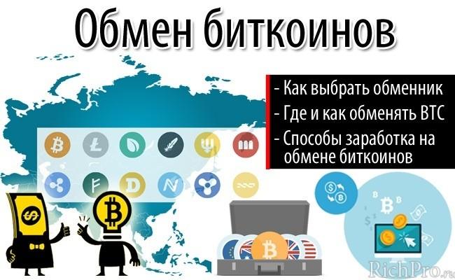 Как выбрать обменник биткоин + инструкция как обменять биткоины