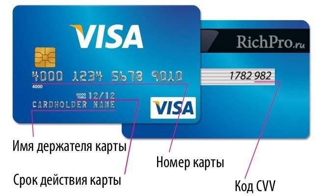 Дебетовая пластиковая карта (банковская платёжная карта)