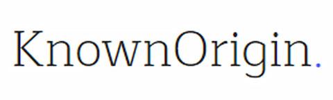 4. Known Origin